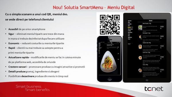 SmartMenu - Meniu Digital