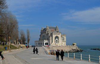 Lucrările de reabilitare a Cazinoului din Constanța continuă